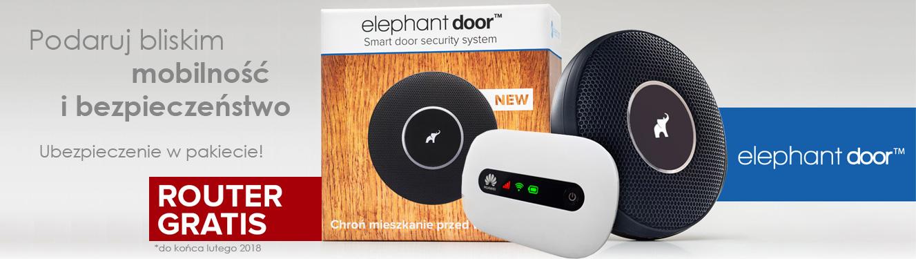 Elephant Door - router Huawei GRATIS
