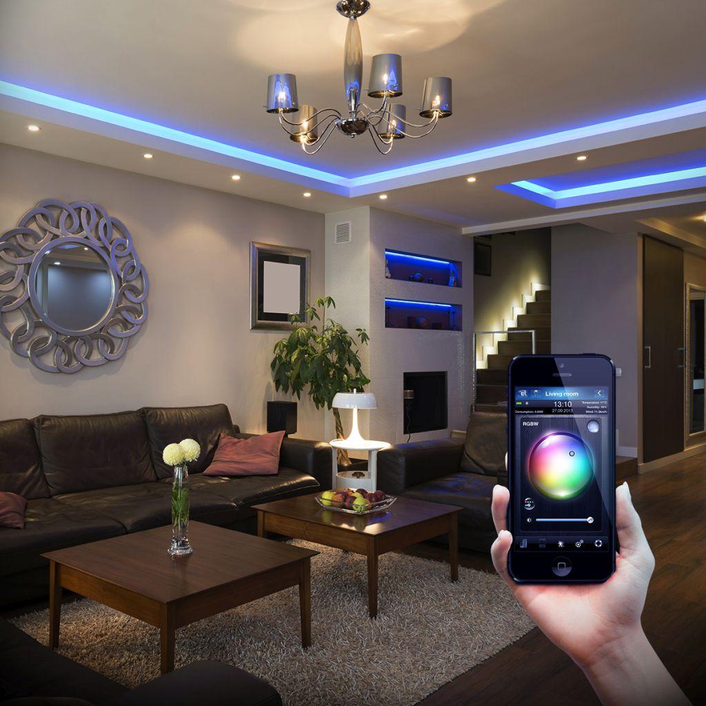 Fibaro RGBW Controller - zmiana kolorów oświetlenia pomieszczeń