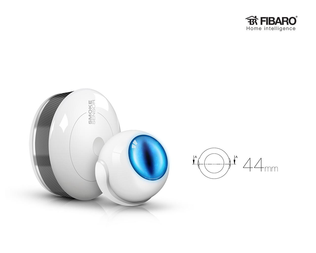 FIBARO Motion Sensor - kompaktowe wymiary