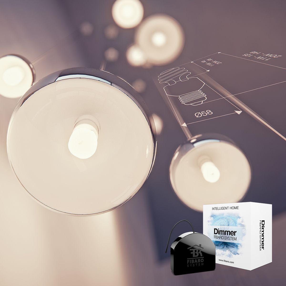 Fibaro Dimmer - sterowanie oświetleniem