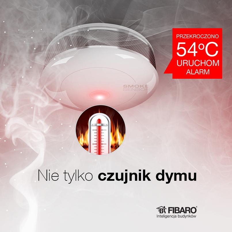 Smoke Sensor Fibaro to nie tylko czujnik dymu