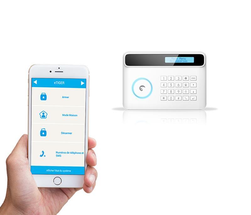 eTIGER S4 Combo Vid Secual - zarządzanie telefonem komórkowym