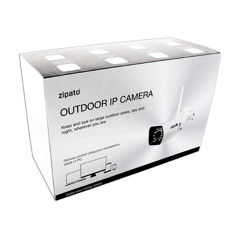 Opakowanie Zipato IP Camera