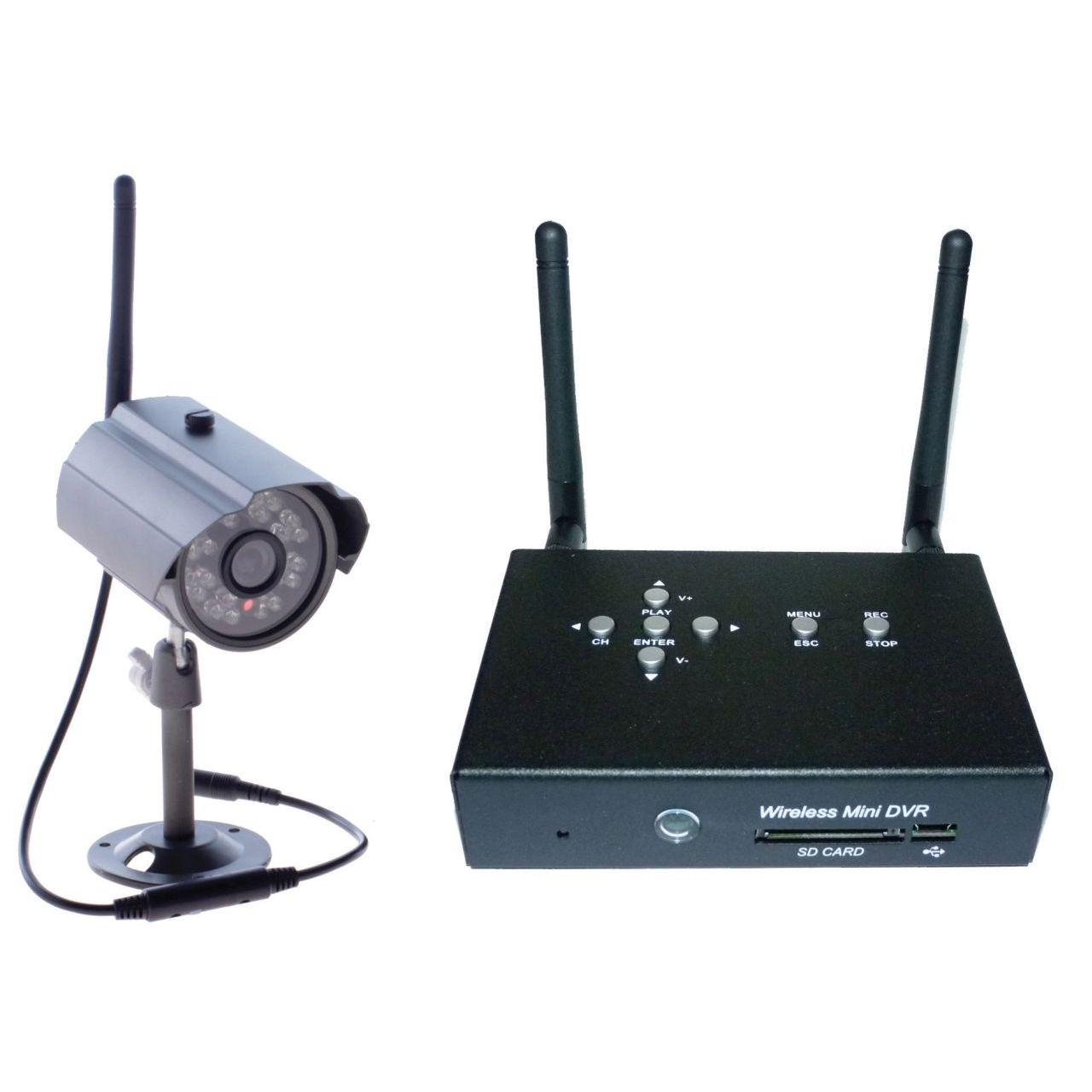 Zestaw monitoringu - kamera + odbiornik SET1ch_LAN2