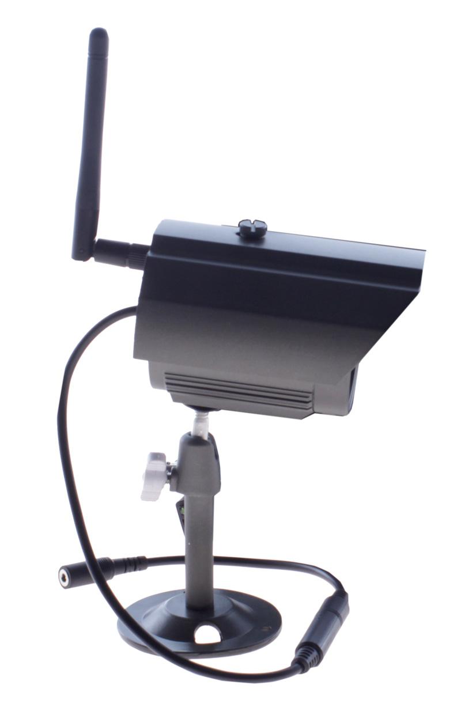 Bok zewnetrznej, bezprzedowej kamery HD - SET1ch_KAM1