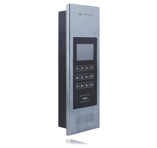 Bezprzewodowy domofon Comwei DGSM-02 - 50 lokatorów