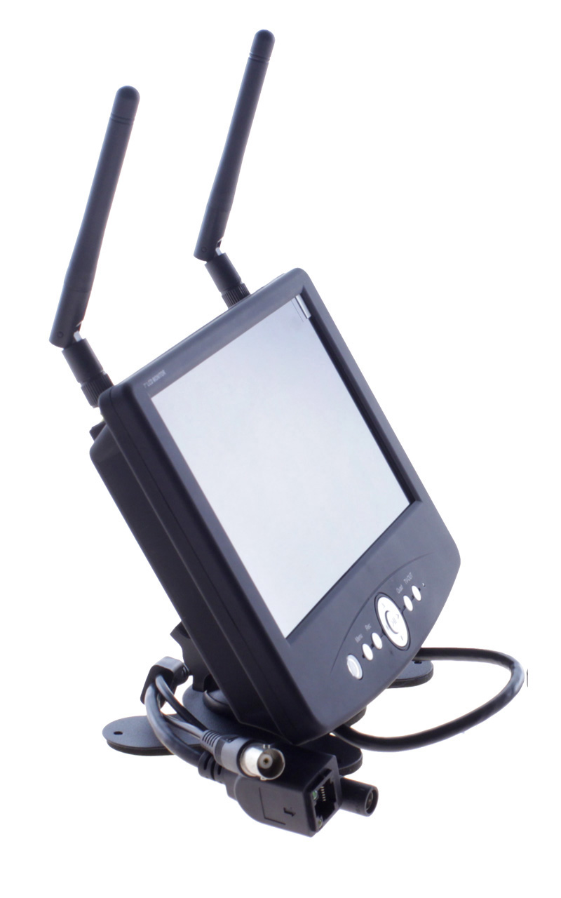 Bezprzewodowy rejestrator LCD