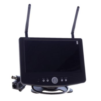 Bezprzewodowy rejestrator - odbiornik LCD - Receiver_LAN1