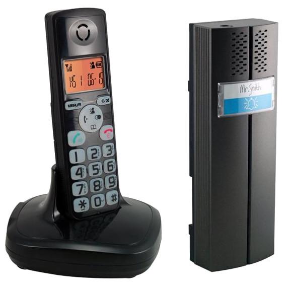 Domofon bezprzewodowy z telefonem - EURA CL-3622