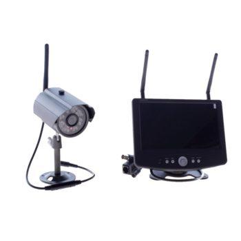 "Zestaw do monitoringu - kamera i odbiornik LCD 7"" - SET1ch_LAN1"
