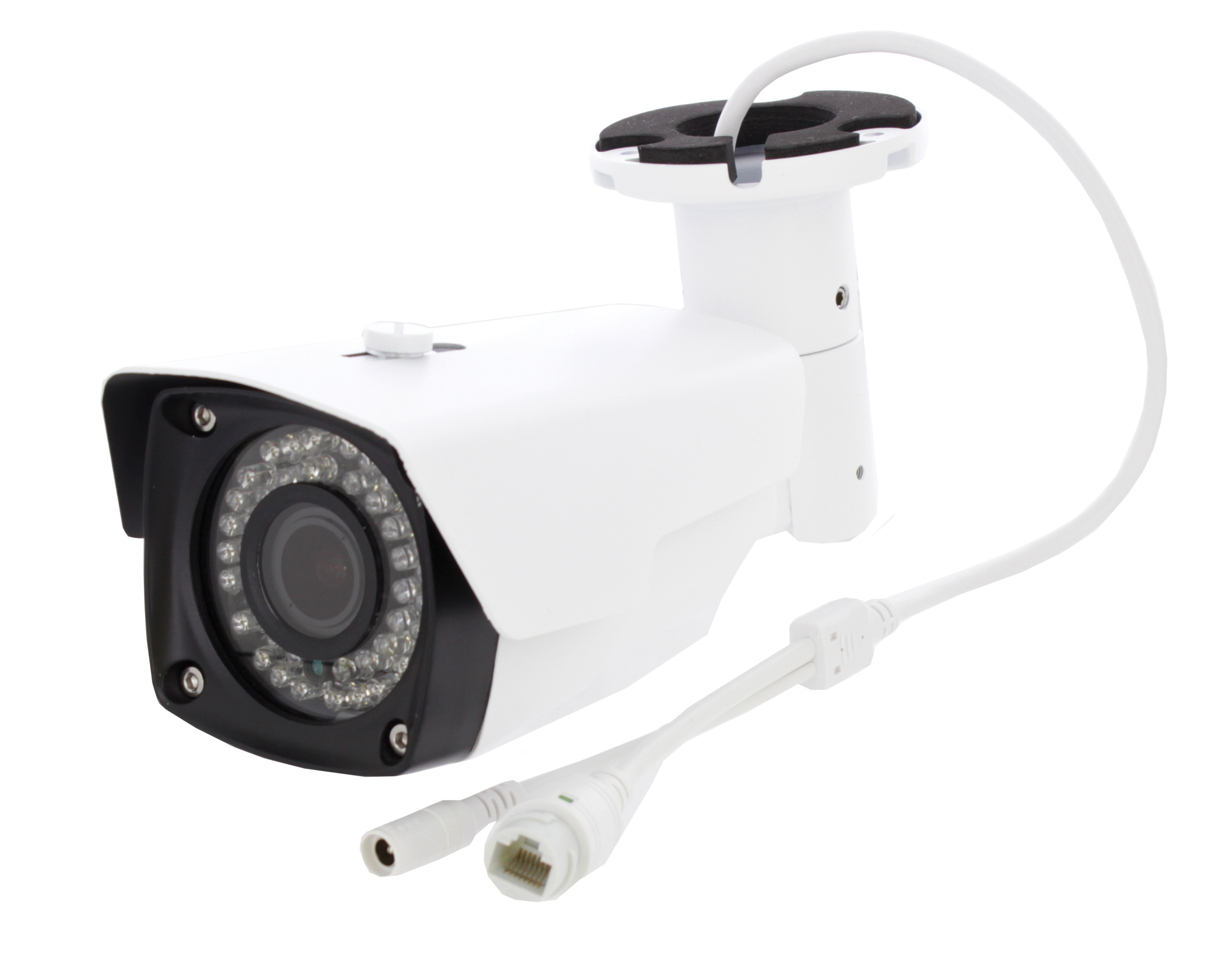 Przewody podłączeniowe zewnętrznej kamery IP IP2302FULLHD