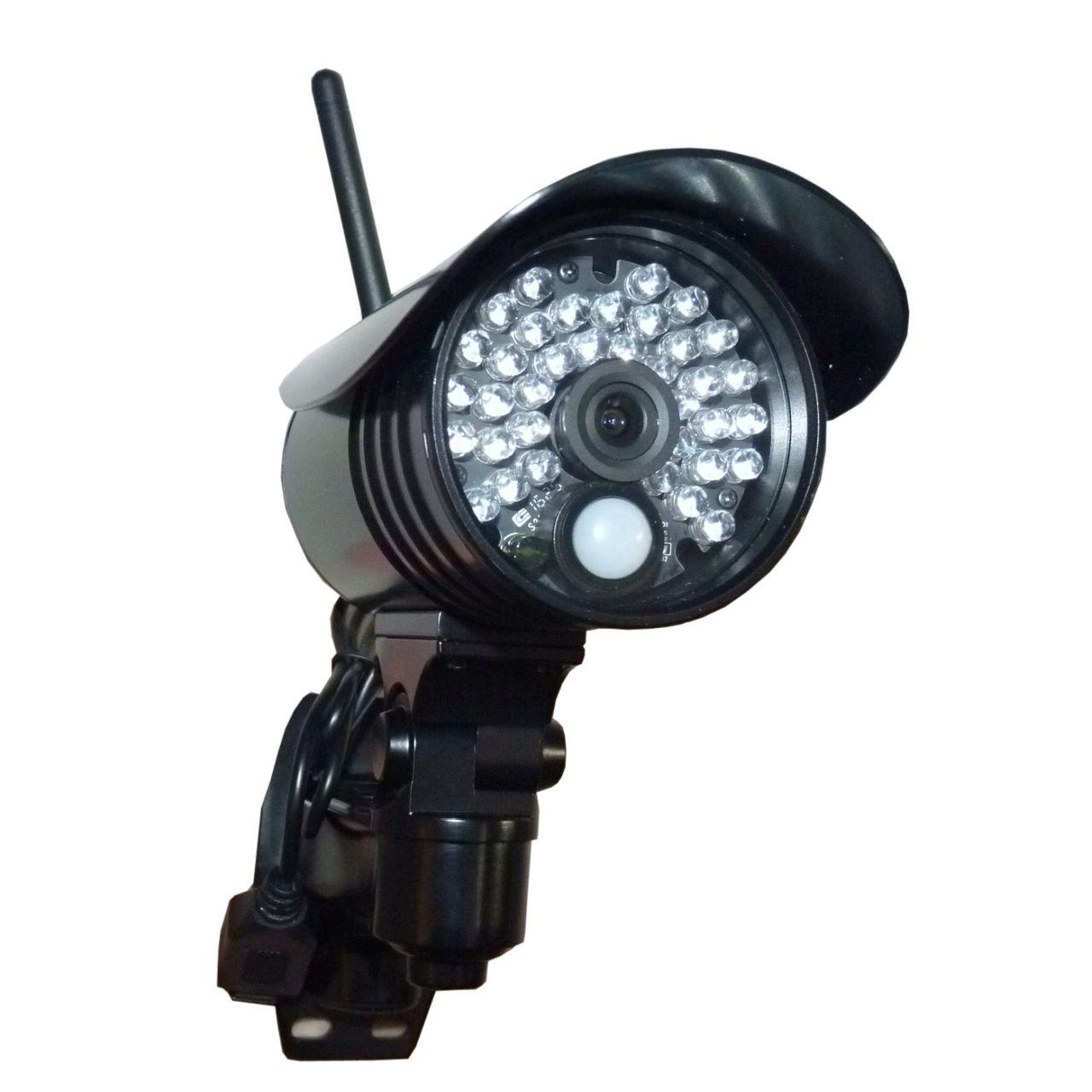 36 wbudowanych diod ID - kamera IP1811