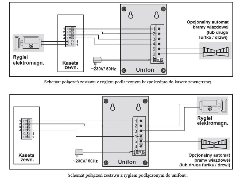 Schemat podłączeniowy ADP-11A3