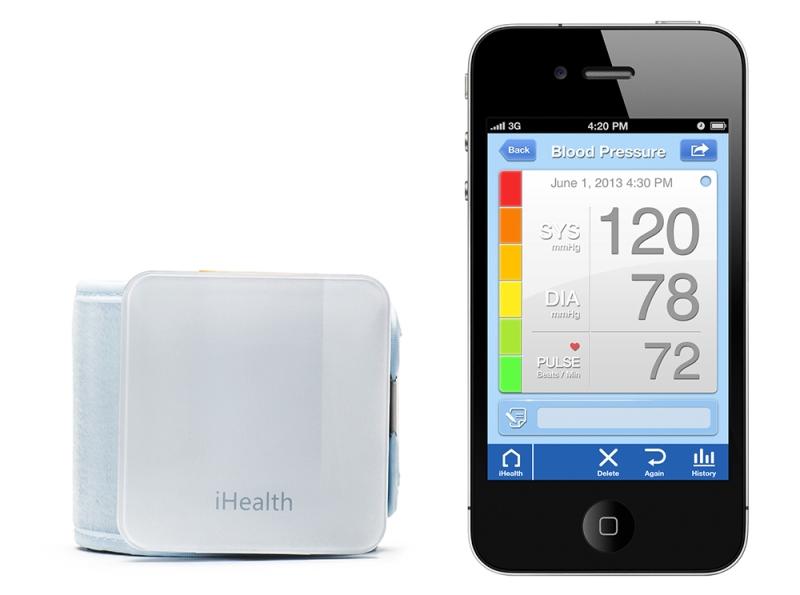 Inteligentny ciśnieniomierz iHealth BP7