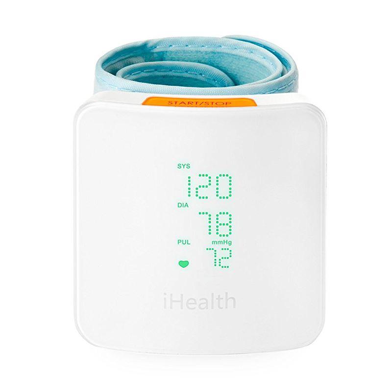 Inteligentny ciśnieniomierz na nadgarstek iHealth