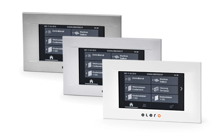 Panel sterowania dotykowego MulitTec Touch Elero.