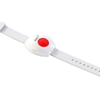 Wodoszczelna bransoletka z przyciskeim SOS