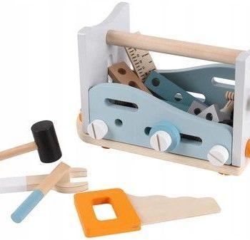 Konstrukcyjny drewniany zestaw narzędziowy