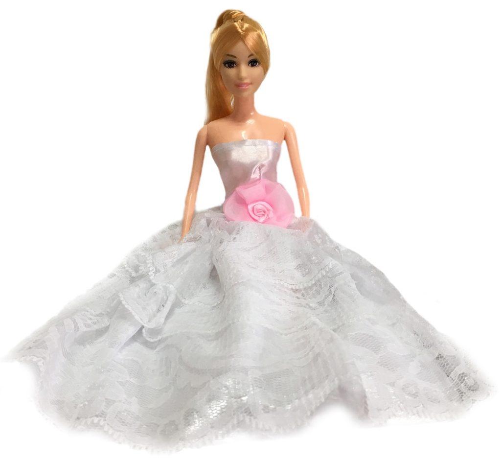 Duża lalka typu Barbie w prezencie do zestawu Malibu ECOTOYS 4118