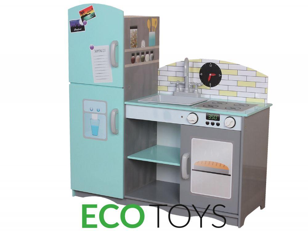 Duża drewniana kuchnia ECOTOYS TK024