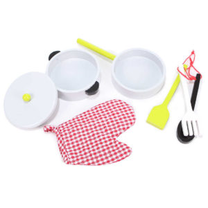 Kuchenne akcesoria w zestawie kuchni ECOTOYS ZA-4201 w ilości 7 sztuk