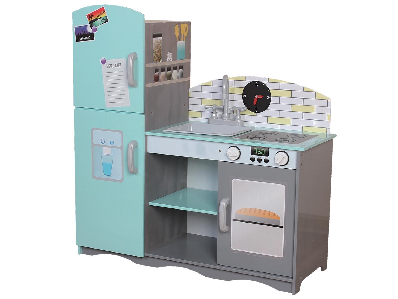 Kuchnia drewniana ECOTOYS TK024 dla prawdziwych szefów kuchni
