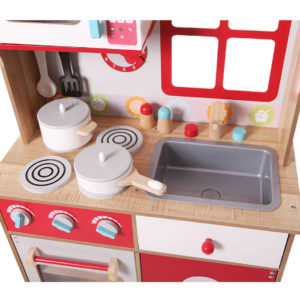 Kuchnia wykonana z najlepszego drewna ECOTOYS 4253
