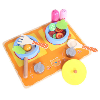 Mini kuchnia zabawka stymulujaca zmysly ECOTOYS HJD931160