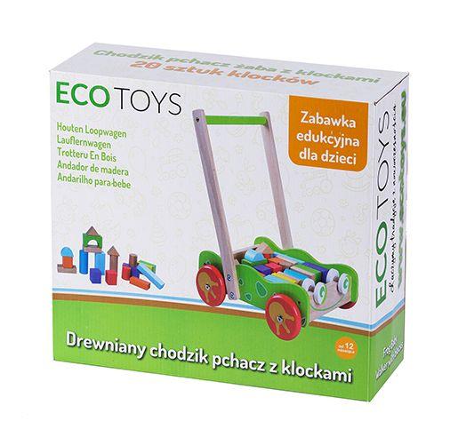 Opakowanie drewnianego wózka Ecotoys