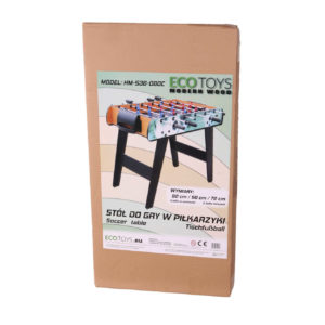 Opakowanie na drewniane piłkarzyki ECOTOYS HM-S36-080C