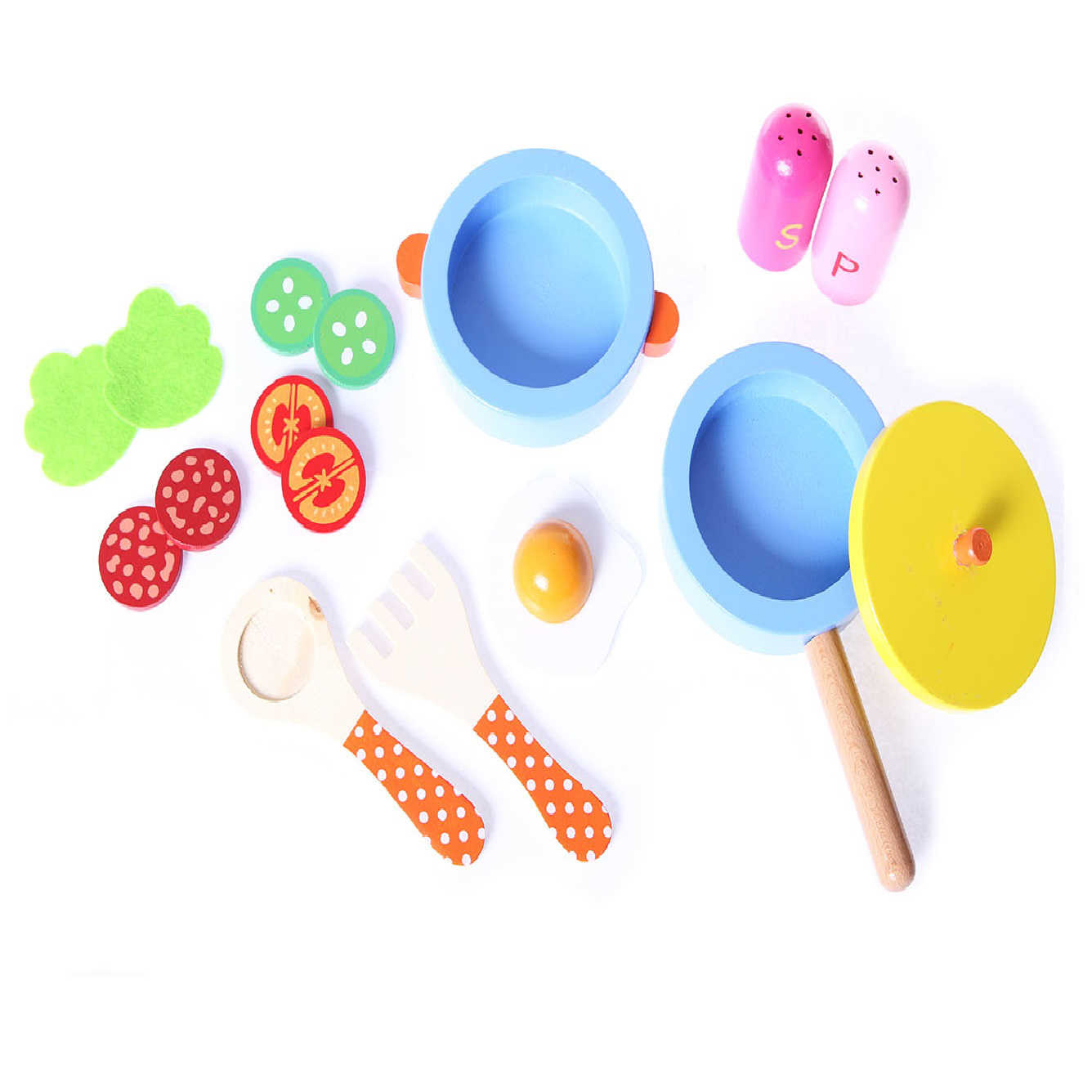 Skład zestawu mini kuchni ECOTOYS HJD931160