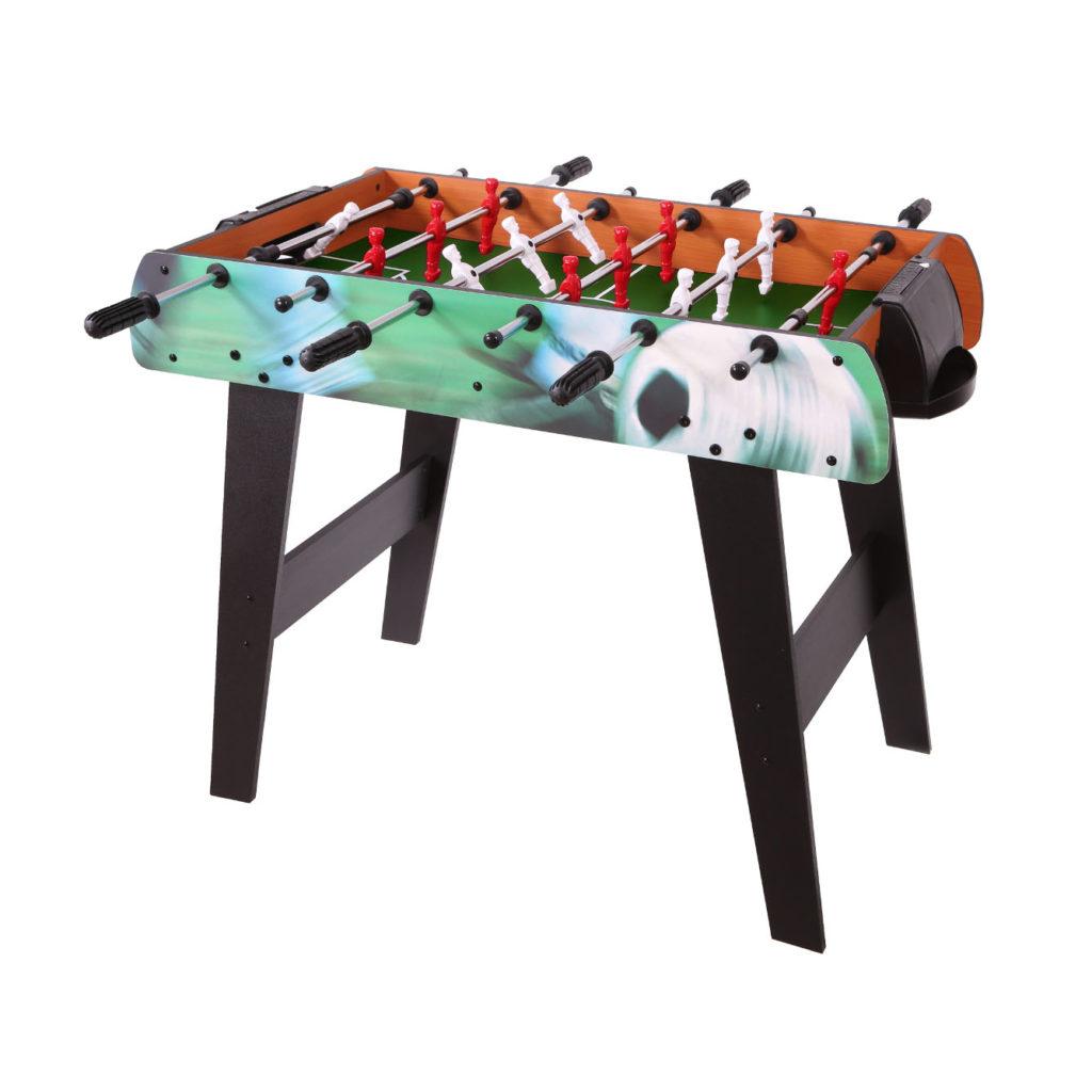 Stół drewniany duży EURO piłkarzyki ECOTOYS HM-S36-080C