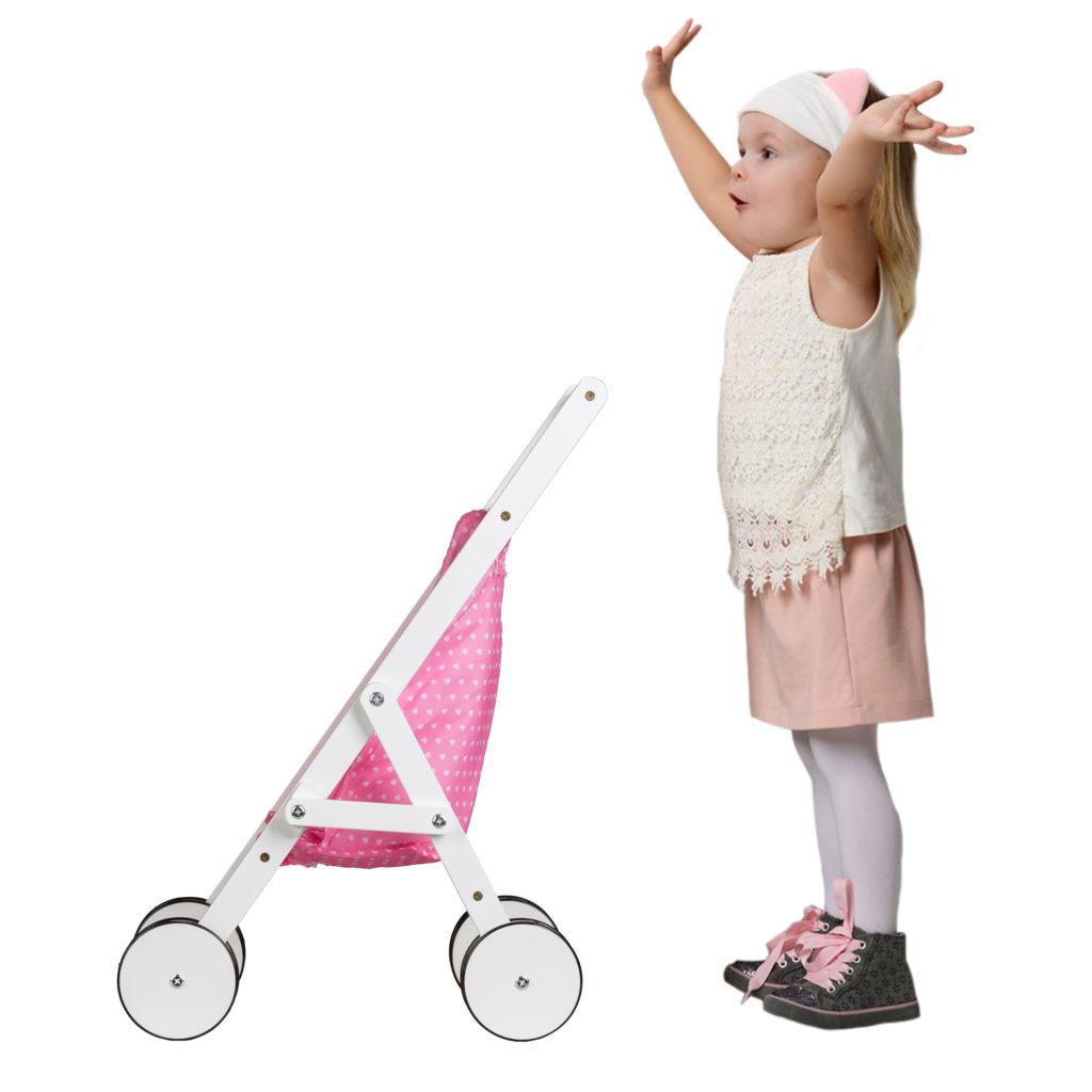 To nie tylko wózek dla lalek z ECOTOYS WDF010