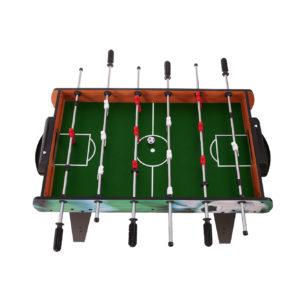 Widok na boisko dużego stołu EURO drewnianego piłkarzyki ECOTOYS HM-S36-080C