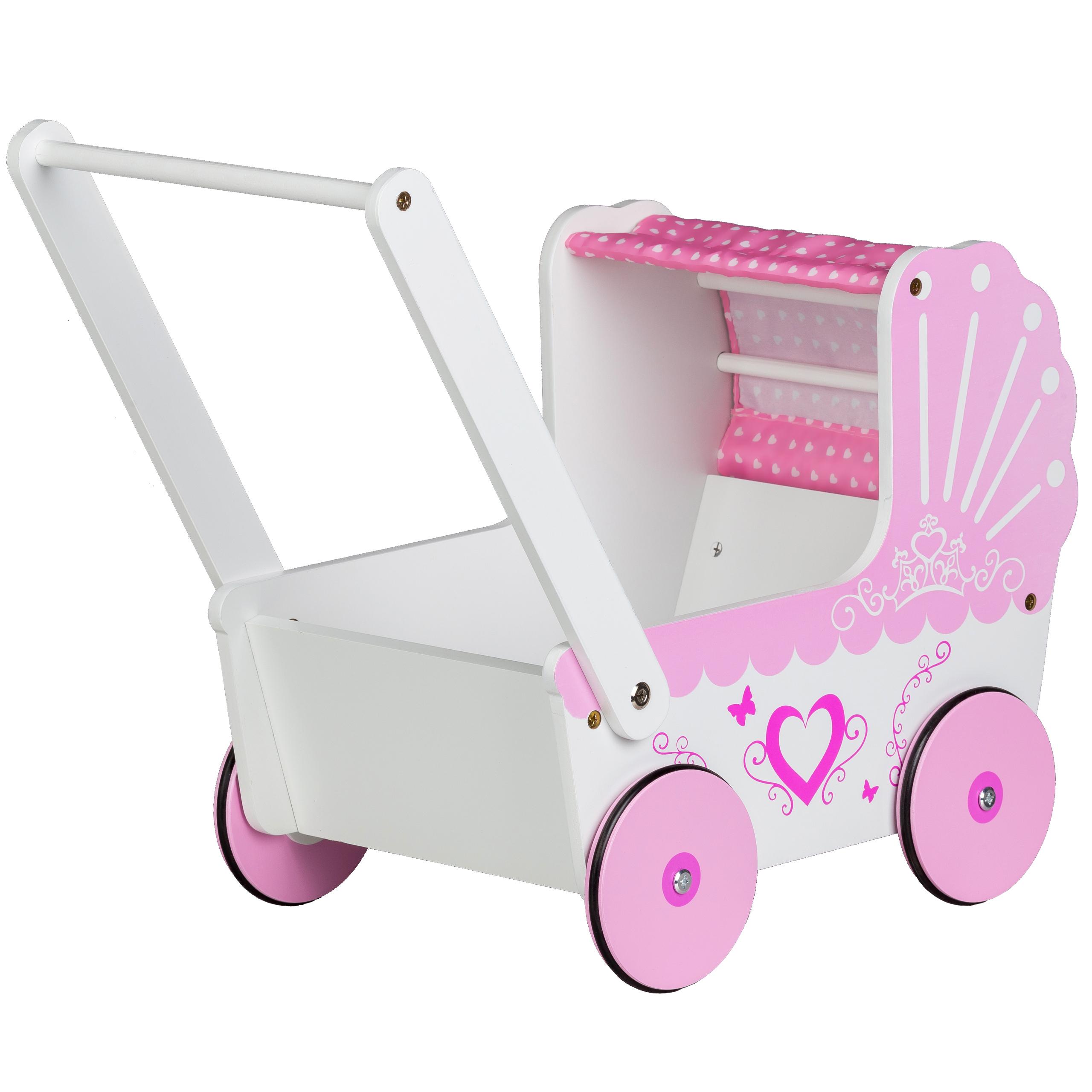 Wózek dla lalek / pchacz Ecotoys TT003