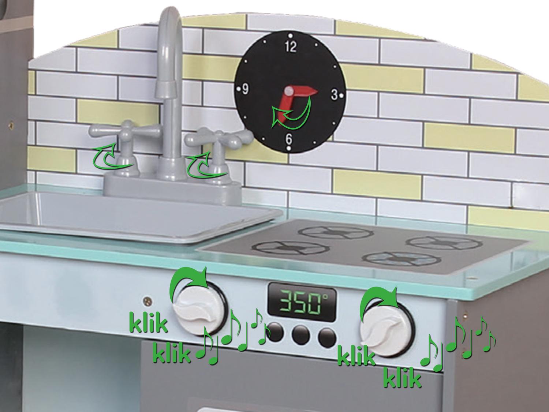Wspaniała zabawa z kuchnia ECOTOYS TK024
