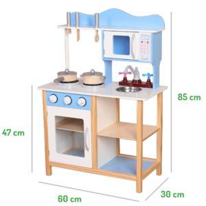 Wymiary drewnianej kuchni ECOTOYS
