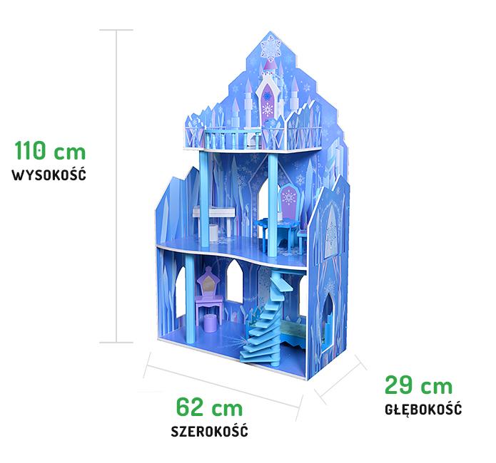 Wymiary rezydencji lodowej ECOTOYS 4111