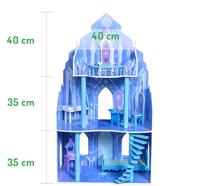 Wysokość pięter rezydencji lodowej ECOTOYS 4111