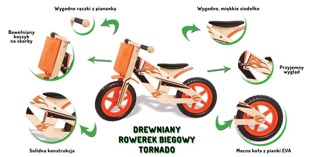 Zalety drewnianego rowerka biegowego ECOTOYS 5012