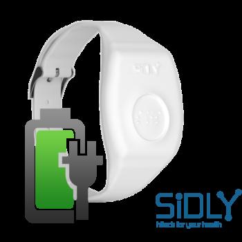 Wymiana akumulatora, obudowy i aktualizacja oprogramowania w opasce SiDLY Care