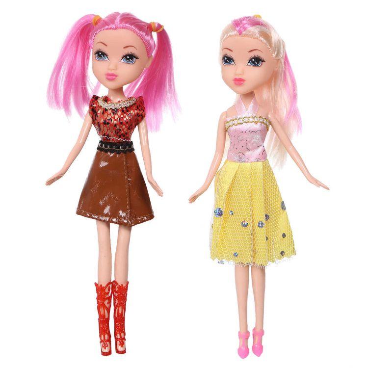 Dwie lalki gratis w rezydencji malinowej ECOTOYS
