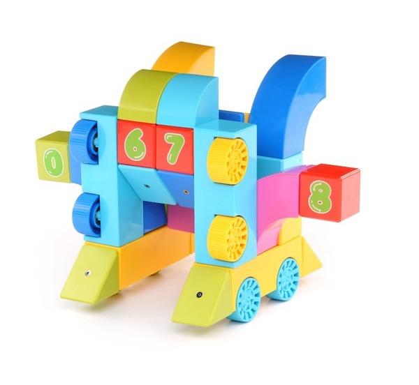 Klocki magnetyczne Alilo Oslo - robot 2