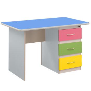 biurko-niebieskie