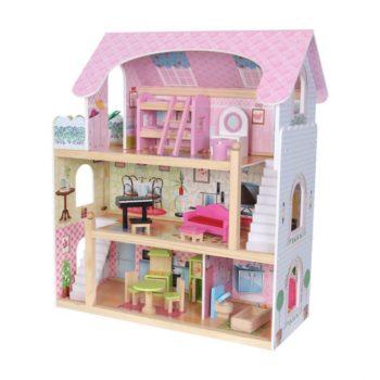 Drewniany domek dla dzieci - Rezydencja Bajkowa Ecotoys