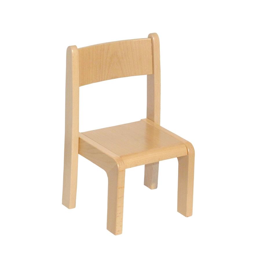 Krzesełko bukowe dla dzieci rozmiar 0