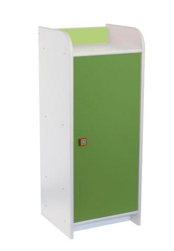 szafka-z-drzwiczkami-M116B-zielona