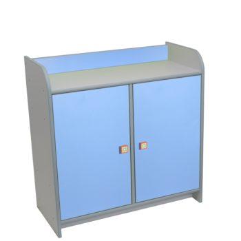 szafka-z-drzwiczkami-niebieska