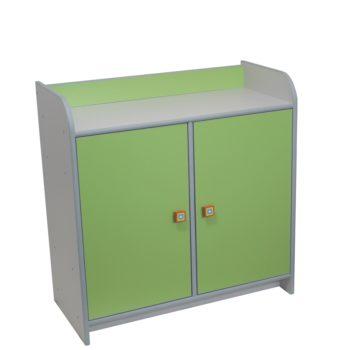szafka-z-drzwiczkami-zielone