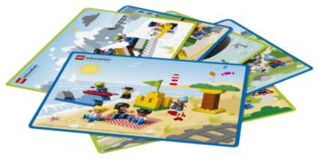 Elementy zestawu LEGO Coding Express